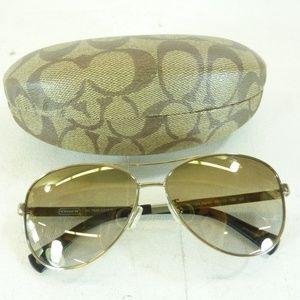 Authentic Coach Aviator Sunglasses w/ Case